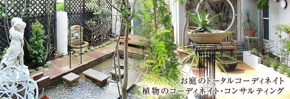 お庭のトータルコーディネイト 植物のコーディネイト・コンサルティング
